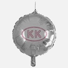 KK Pink Mylar Baloon