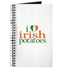 I Love Irish Potatoes Journal