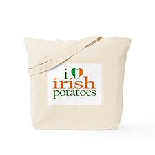 I Love Irish Potatoes Tote Bag