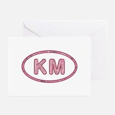 KM Pink Greeting Card 20 Pack