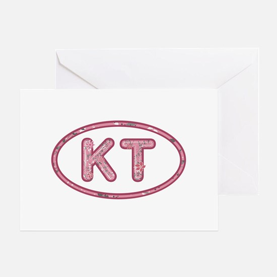 KT Pink Greeting Card