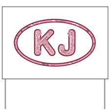 KJ Pink Yard Sign