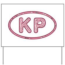 KP Pink Yard Sign