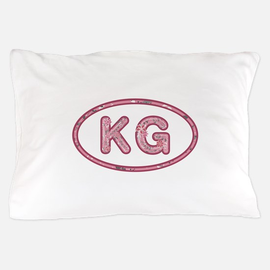 KG Pink Pillow Case