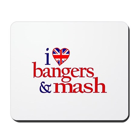 Bangers and Mash Mousepad