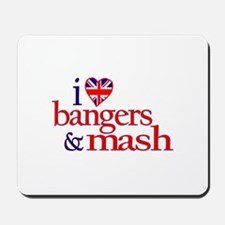 Bangers and Mash Mousepad