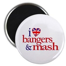 Bangers and Mash Magnet
