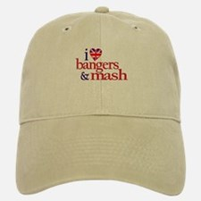 Bangers and Mash Baseball Baseball Cap
