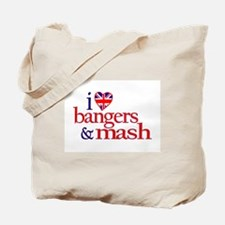 Bangers and Mash Tote Bag