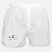 Bangers and Mash Boxer Shorts