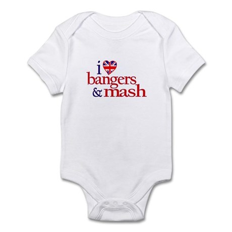 Bangers and Mash Infant Bodysuit