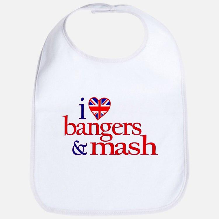 Bangers and Mash Bib