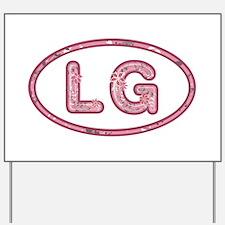 LG Pink Yard Sign