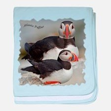 Puffin Tee baby blanket