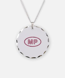 MP Pink Necklace