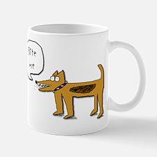 Bite Me Dog Mug