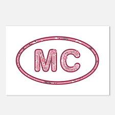 MC Pink Postcards 8 Pack