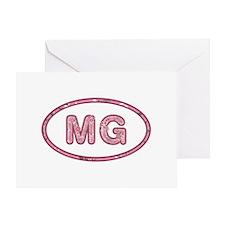 MG Pink Greeting Card