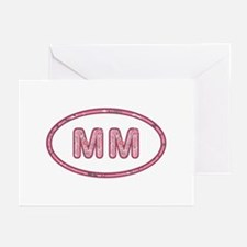 MM Pink Greeting Card 20 Pack
