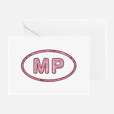 MP Pink Greeting Card