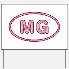 MG Pink Yard Sign