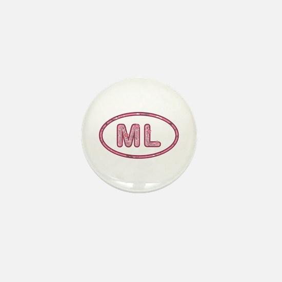 ML Pink Mini Button
