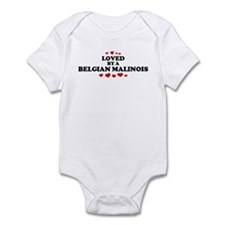 Loved: Belgian Malinois Infant Bodysuit
