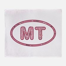 MT Pink Throw Blanket