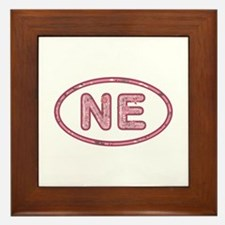 NE Pink Framed Tile