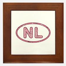 NL Pink Framed Tile