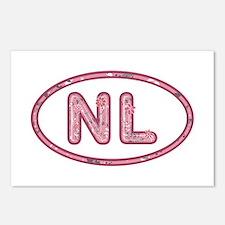 NL Pink Postcards 8 Pack