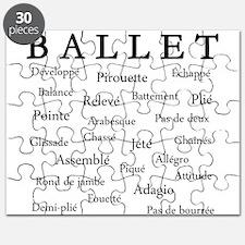 Ballet Words Puzzle