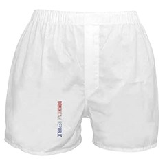 Dominican Rep Boxer Shorts