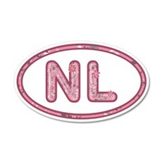 NL Pink Wall Decal