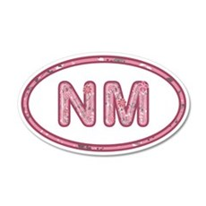 NM Pink Wall Decal