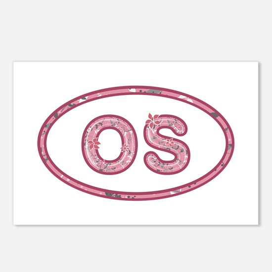 OS Pink Postcards 8 Pack