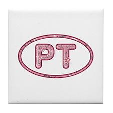 PT Pink Tile Coaster