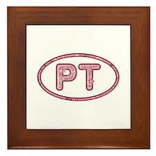 PT Pink Framed Tile
