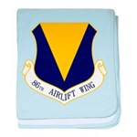 86th AW baby blanket