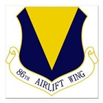 86th AW Square Car Magnet 3
