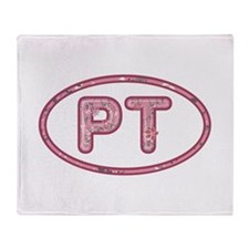PT Pink Throw Blanket