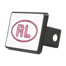 RL Pink Hitch Cover