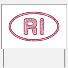 RI Pink Yard Sign