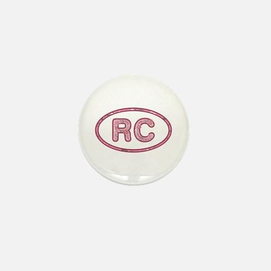 RC Pink Mini Button