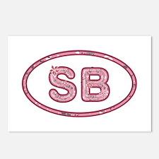 SB Pink Postcards 8 Pack