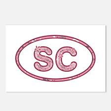 SC Pink Postcards 8 Pack