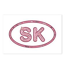 SK Pink Postcards 8 Pack