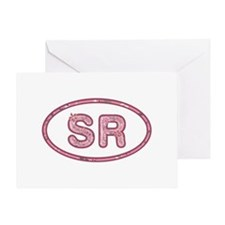 SR Pink Greeting Card
