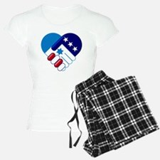 Israel and America Pajamas