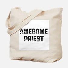 Awesome Priest Tote Bag